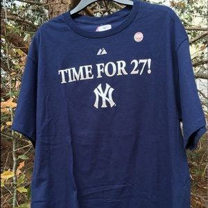 f264fc24 Majestic Shirts   New York Yankees Time For 27 Ring Tee   Poshmark